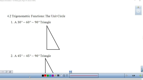 Thumbnail for entry 4.2 Lesson for Precalculus