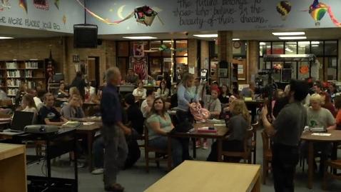 Thumbnail for entry Mason HS Learning Walks - Kevin Feldman's Lesson