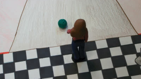 Thumbnail for entry Bowling For Stewart Claymation