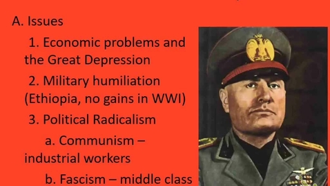 Thumbnail for entry Euro: Lecture 9.1 - Dictatorship, part 3