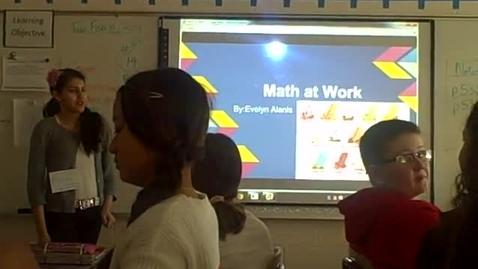 Thumbnail for entry Evelyn A math career