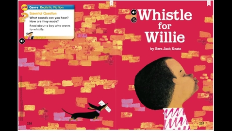 Thumbnail for entry Reading April 2, 2020 Whistle for Willie Read Aloud with questions
