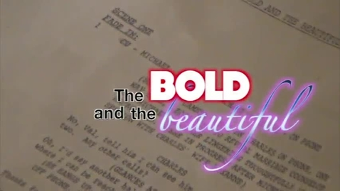 Thumbnail for entry Bold and the Beautiful