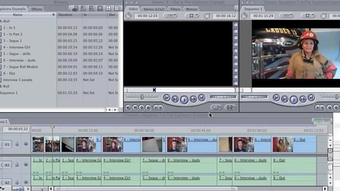 Thumbnail for entry FCE - Fire Explorers B-Roll Adding