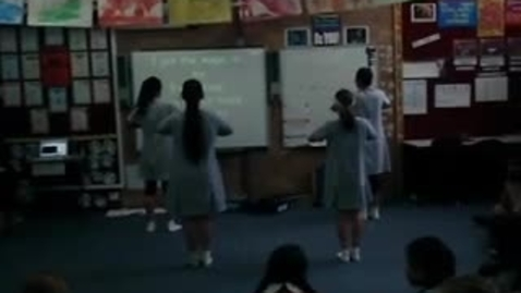 Thumbnail for entry Year 6 Term 1 Dance Assessments - Amanda, Sian, Victoria and Gabby