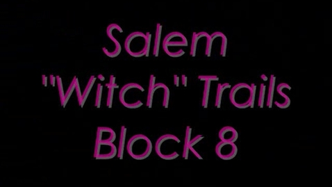 Thumbnail for entry Salem 'witch' Trials