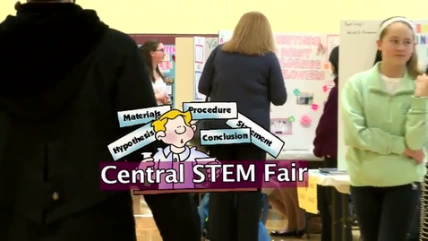 Thumbnail for entry Central STEM Fair 2015