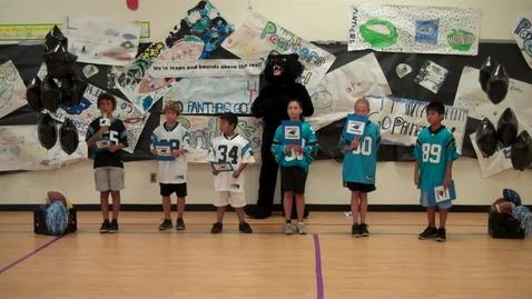 Thumbnail for entry Seaside Elementary Carolina Panthers Friday