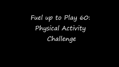 Thumbnail for entry Physical Activity Challenge