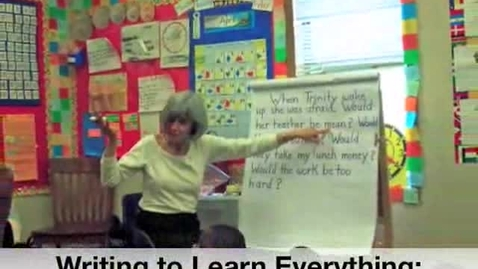 Thumbnail for entry Writing to Learn Everything
