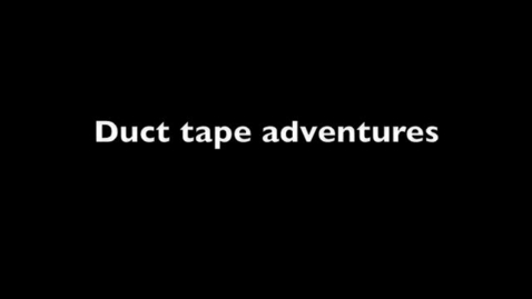 Thumbnail for entry Duct Tape Adventures and Lego Town