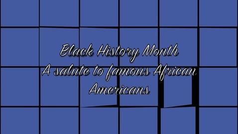 Thumbnail for entry Black History