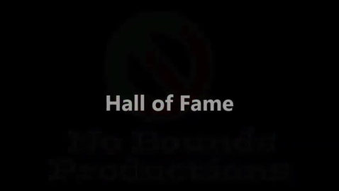 Thumbnail for entry Photo Story: Hall of Fame feat. Will I Am