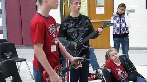 Thumbnail for entry Guitar Hero 3 Showdown!