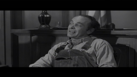 Thumbnail for entry To Kill A Mockingbird(1962) - The trial scene(Bob Ewell's testimony) - Quiz