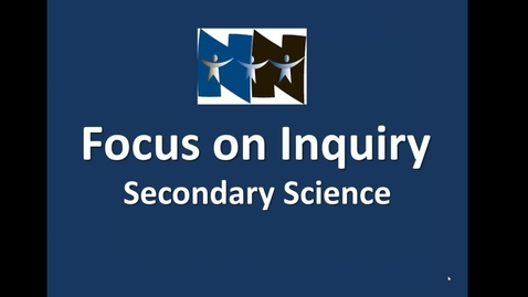 Thumbnail for entry Science Inquiry Oct. 2011
