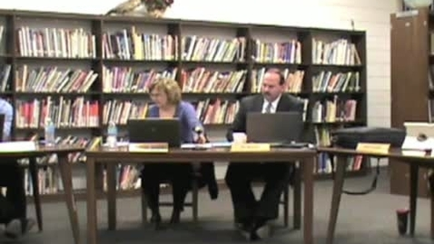 Thumbnail for entry 3/14/13 School Board Meeting