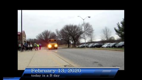 Thumbnail for entry WHMS Morning Show Feb 13, 2020