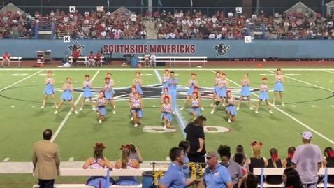 Thumbnail for entry SHS Mavs Varsity Cheer  8-26-21