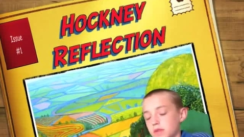 Thumbnail for entry Adam's David Hockney Reflection