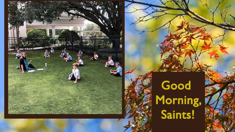 Thumbnail for entry Saints @ 8 - September 14, 2020