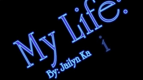 Thumbnail for entry My life. Settles