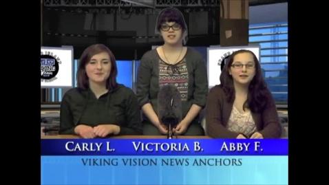 Thumbnail for entry Viking Vision News Wed 1-14-2015