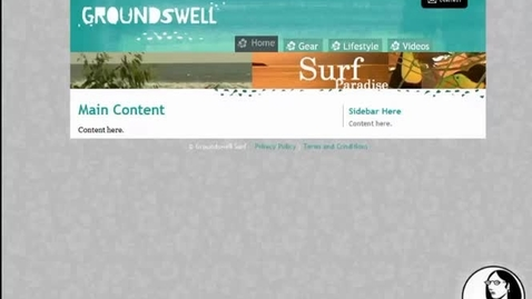 Thumbnail for entry Website Lesson 7