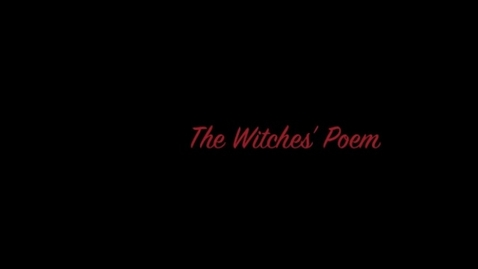 Thumbnail for entry The Witches' Poems