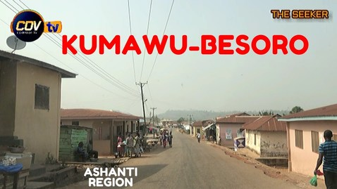 Thumbnail for entry Kumawu - Besoro Drive in the Ashanti Region of Ghana: Enjoy the ride with the Seeker Ghana.