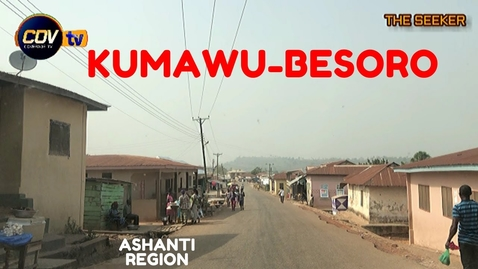 Thumbnail for entry Kumawu - Besoro Drive in the Ashanti Region of Ghana: Enjoy the ride with the Seeker Ghana.