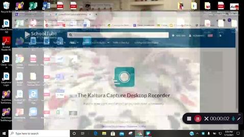 Thumbnail for entry Kaltura Capture recording - January 13th 2021, 3:26:18 pm