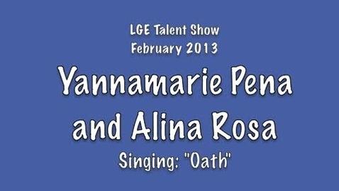 Thumbnail for entry Yannamarie Pena and Alina Rosa