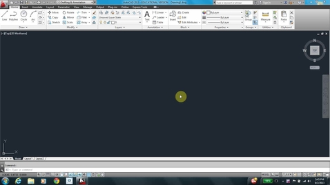Thumbnail for entry AutoCAD LESSON 3F