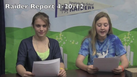 Thumbnail for entry Raider Report 4-20-12