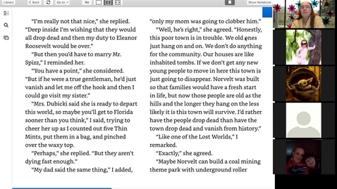 Thumbnail for entry Chapter 12-13 Dead End in Norvelt