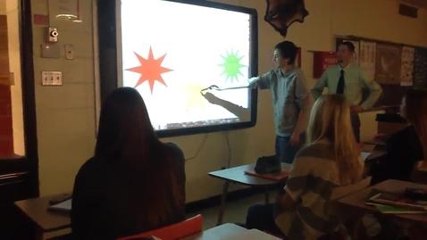 Thumbnail for entry Elkhart Lake-Glenbeulah HIgh School Classroom Promethean ActivBoard