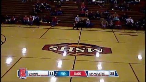 Thumbnail for entry MSHS Redettes Basketball vs. Gwinn