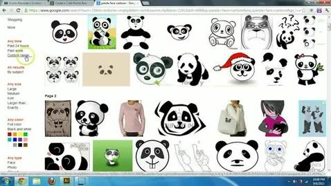 Thumbnail for entry Illustrator Cartoon Panda Tutorial