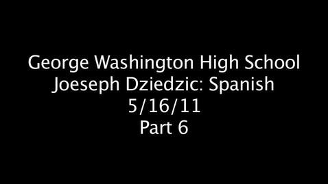 Thumbnail for entry Joeseph Dziedzic Part 6