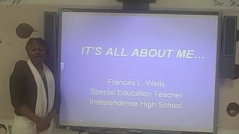 Thumbnail for entry My Flip Camera Movie - Frances Wells