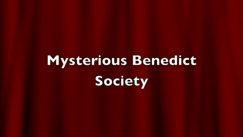 Thumbnail for entry The Mysterious Benedict Society Book Trailer