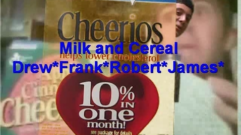 Thumbnail for entry Milk and Cereal