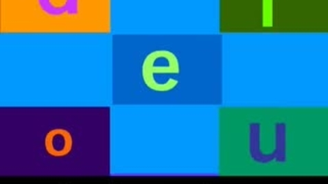 Thumbnail for entry Literacy Skills: Short Vowel Song Reading Learning Upgrade