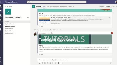 Thumbnail for entry Daily Tasks 2 Tutorial