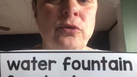 Thumbnail for entry 4.21.20-Spanish word of the day- water fountain