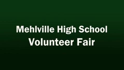 Thumbnail for entry Mehlville High School Students Attend Volunteer Fair