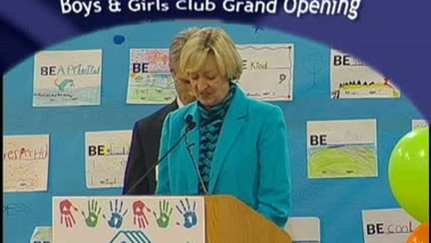Thumbnail for entry Boys & Girls Club Grand Opening