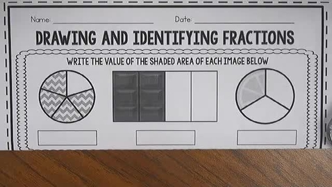 Thumbnail for entry Equivalent Fraction using pictures!