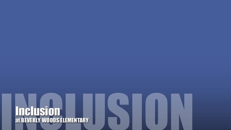 Thumbnail for entry Inclusion Week 2013 #1